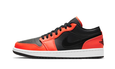Air Jordan 1 Low Orange Black SE