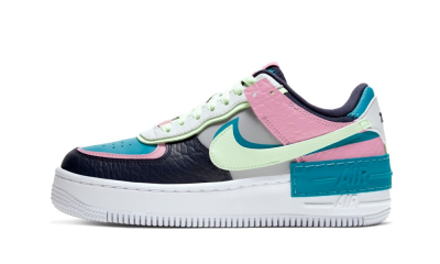 Air Force 1 Shadow Barely Volt Oracle Aqua (W)