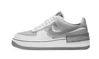 Nike Air Force 1 Shadow White Grey (W)