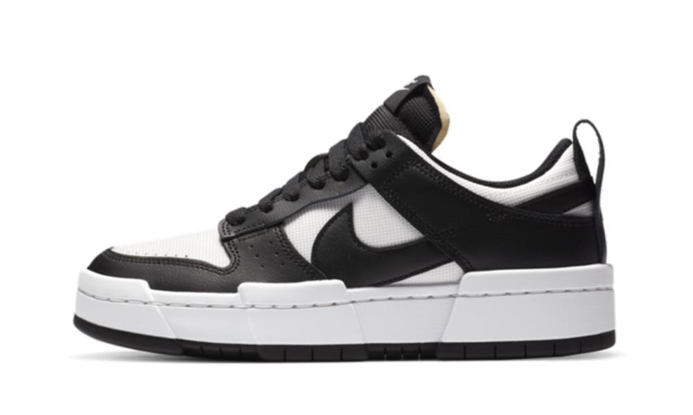 Nike Dunk Low Disrupt Black White (W