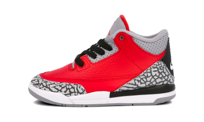 Air Jordan 3 Retro SE Fire Red (PS)