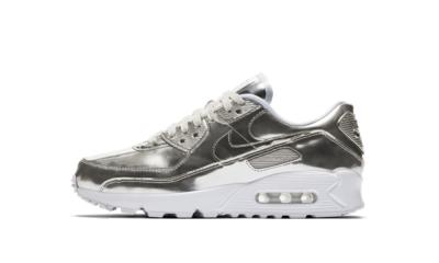 Nike Air Max 90 Metallic Silver 2020 (W)