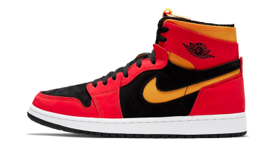 Air Jordan 1 High Zoom Air CMFT 'Black Chile Red'