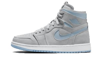 Air Jordan 1 High Zoom CMFT Grey Blue (W)