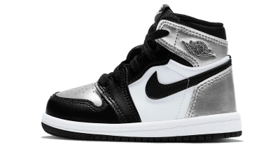 Air Jordan 1 Retro High Silver Toe (TD)
