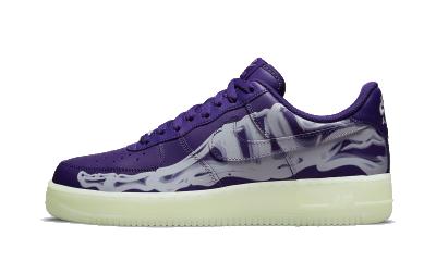 Nike Air Force 1 Low Purple Skeleton
