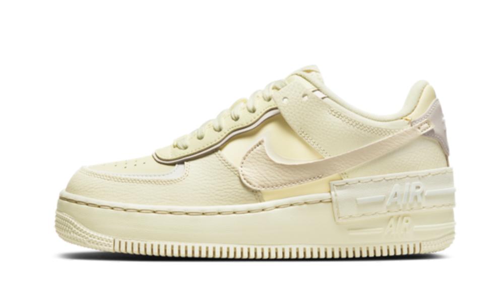 Nike Air Force 1 Shadow Coconut Milk (W) - CU8591-102 - Restocks