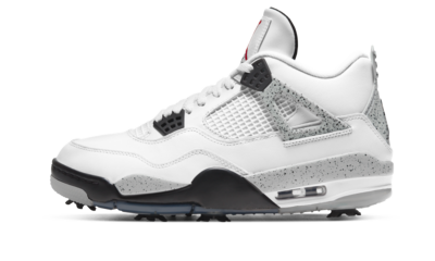 Air Jordan 4 Golf 'White Cement'