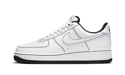Nike Air Force 1 Low Contrast Stitch White Black