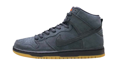 Nike SB Dunk High Pro Orange Label Dark Smoke Grey