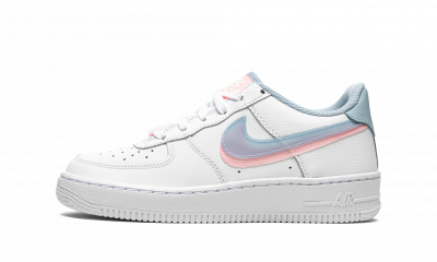 Nike Air Force 1 LV8 Double Swoosh Blue Pink  (GS)