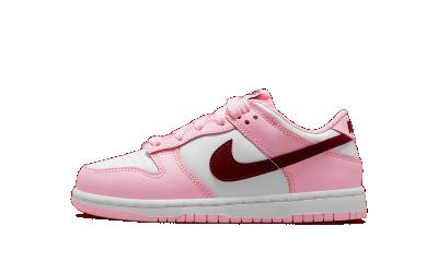 Nike Dunk Low Pink Foam Dark Beetroot (PS)