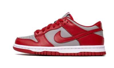 Nike Dunk Low Retro Medium Grey Varsity Red UNLV (GS)