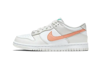 Nike Dunk Low White Bone Peach Aqua (GS)