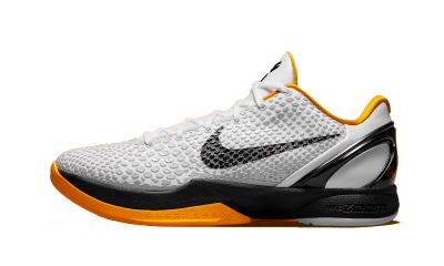 Kobe 6 Protro Playoff Pack White Del Sol