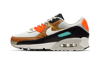 Nike Air Max 90 Gold Reptile (W)