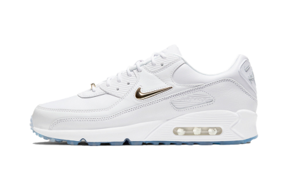Nike Air Max 90 Pirate Radio White Gold