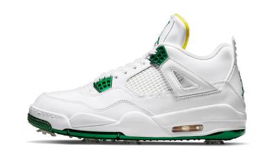 Air Jordan 4 Metallic Green Golf