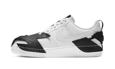 Nike NDSTRKT Air Force 1 White Black