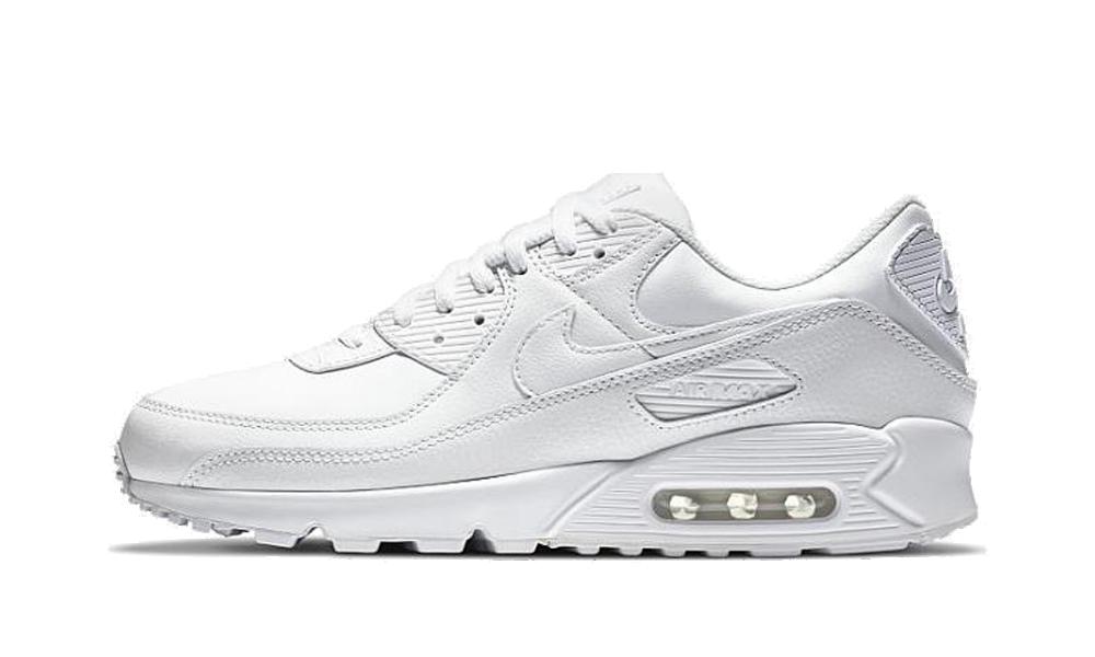 Nike Air Max 90 Leather White - CZ5594-100 - Restocks