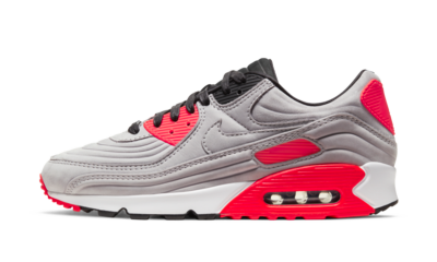Nike Air Max 90 Night Silver Bright Crimson