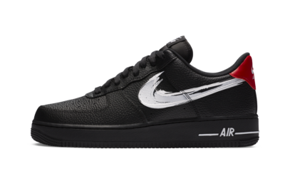 Nike Air Force 1 Low Brushstroke Black