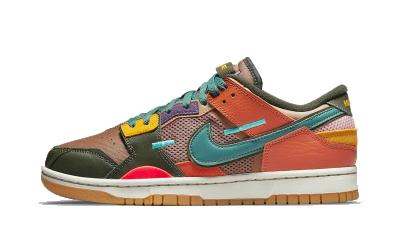 Nike Dunk Low Scrap Archeo Brown