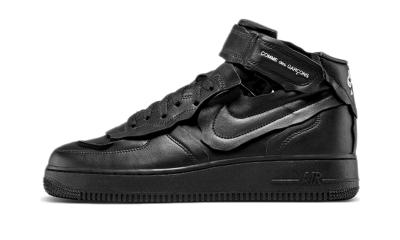 Nike Air Force 1 Mid Comme des Garcons Black