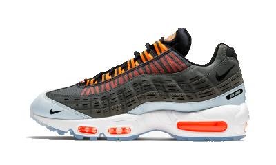 Nike Air Max 95 x Kim Jones 'Black Total Orange'