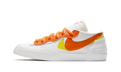 Nike Blazer Low x sacai Magma Orange