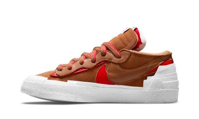 Nike Blazer Low x sacai British Tan