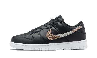 Nike Dunk Low SE Animal Instinct Black (W)