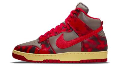 Nike Dunk High 1985 Acid Wash Red