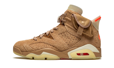 Air Jordan 6 Retro Travis Scott 'British Khaki'