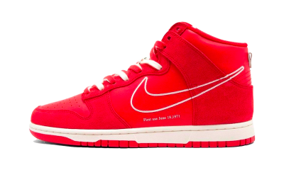 Nike Dunk High First Use University Red