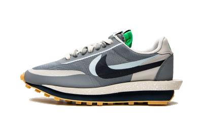 Nike LD Waffle x sacai x Clot Cool Grey