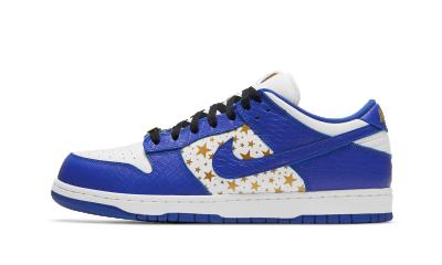 Nike SB Dunk Low x Supreme ''Hyper Blue''
