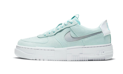 Nike Air Force 1 Pixel Mint Green Suede
