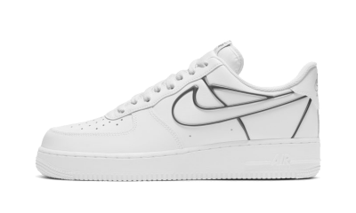 Nike Air Force 1 Low White Metallic Pewter