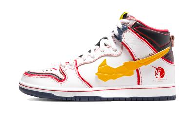 Nike SB Dunk High RX-0 Unicorn Gundam White