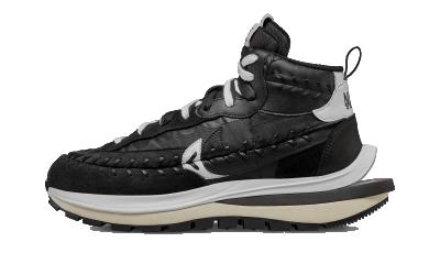 Nike x sacai Vaporwaffle Jean Paul Gaultier Black White