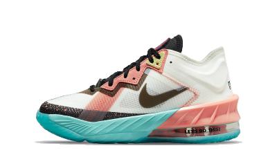 Nike Lebron 18 Low Summit White Space Jam (GS)