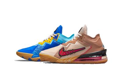 Nike Lebron 18 Low Wile E. vs Roadrunner Space Jam (GS)