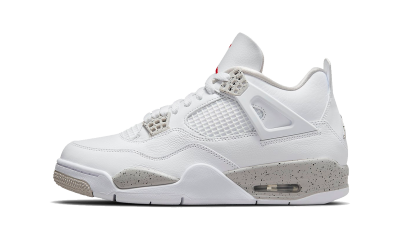 Air Jordan 4 Retro 'White Oreo' 2021 (GS)