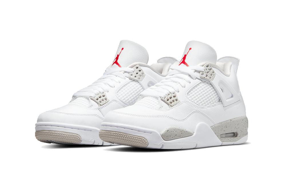 Air Jordan 4 Retro 'White Oreo' 2021 (GS) - DJ4699-100 - Restocks