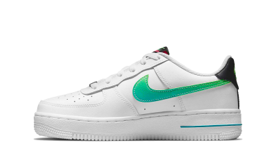 Nike Air Force 1 Low LV8 White Green (GS)