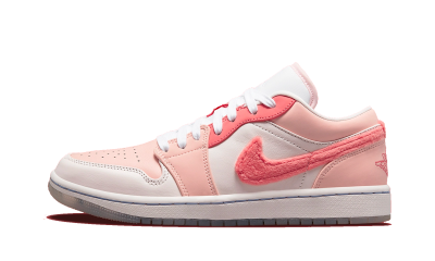 Air Jordan 1 Low SE Mighty Swooshers Pink (W)