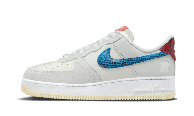 Nike Air Force 1 Low Undefeated 5 On It Dunk vs. AF1
