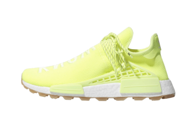 NMD Hu Trail Pharrell Now Is Her Time 'Solar Yellow'