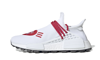 NMD HU Pharrell Human Made White Red